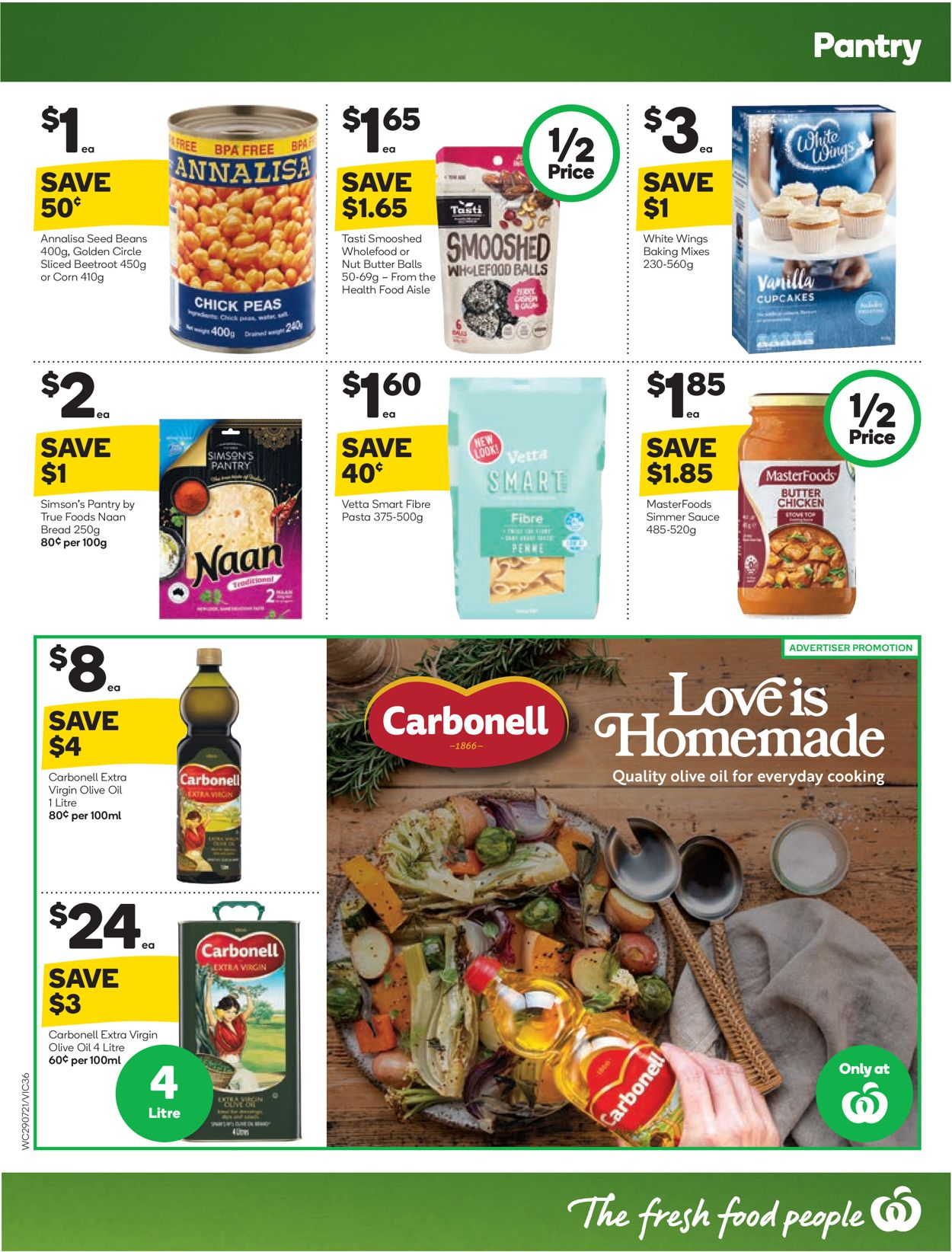 Woolworths Catalogue - 29/07-04/08/2020 (Page 36)