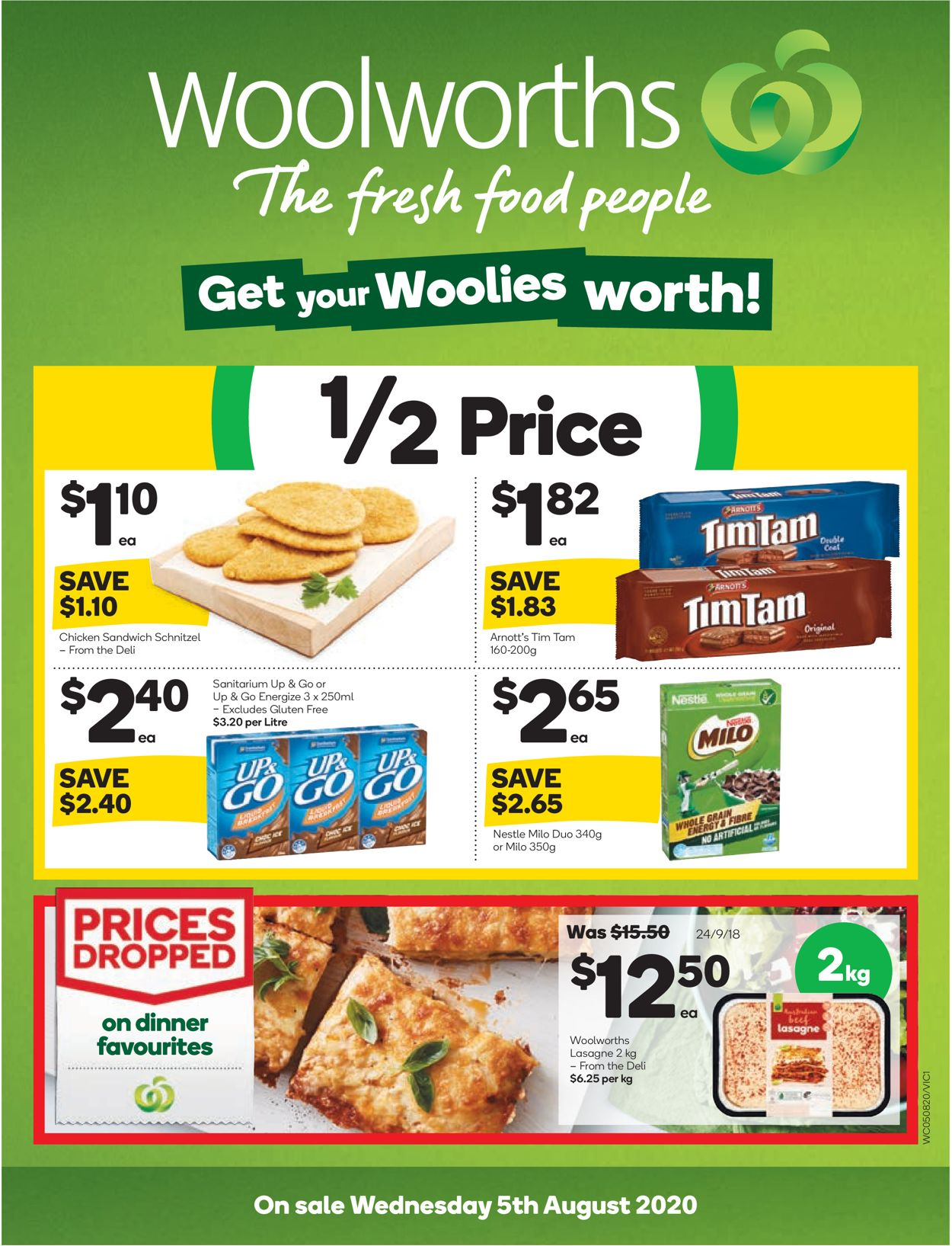 Woolworths Catalogue - 05/08-11/08/2020