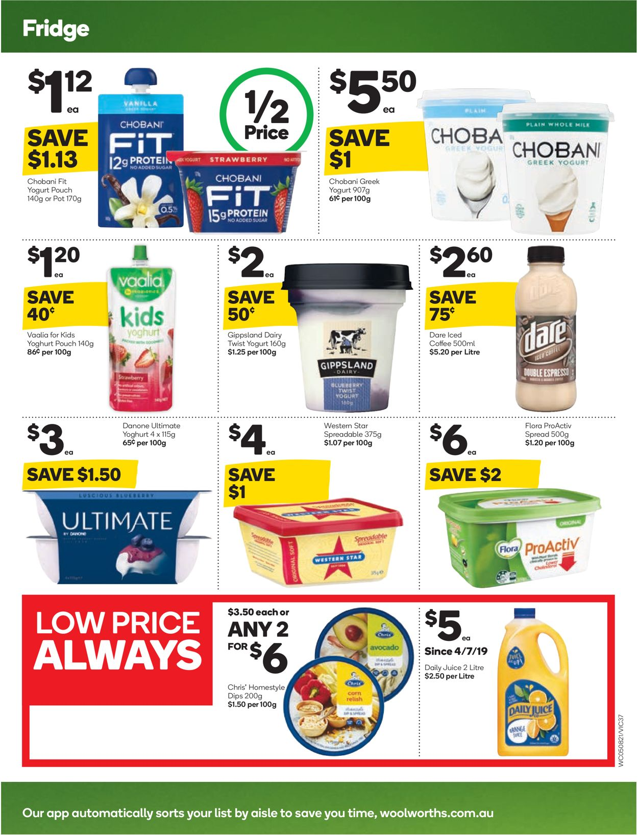 Woolworths Catalogue - 05/08-11/08/2020 (Page 35)
