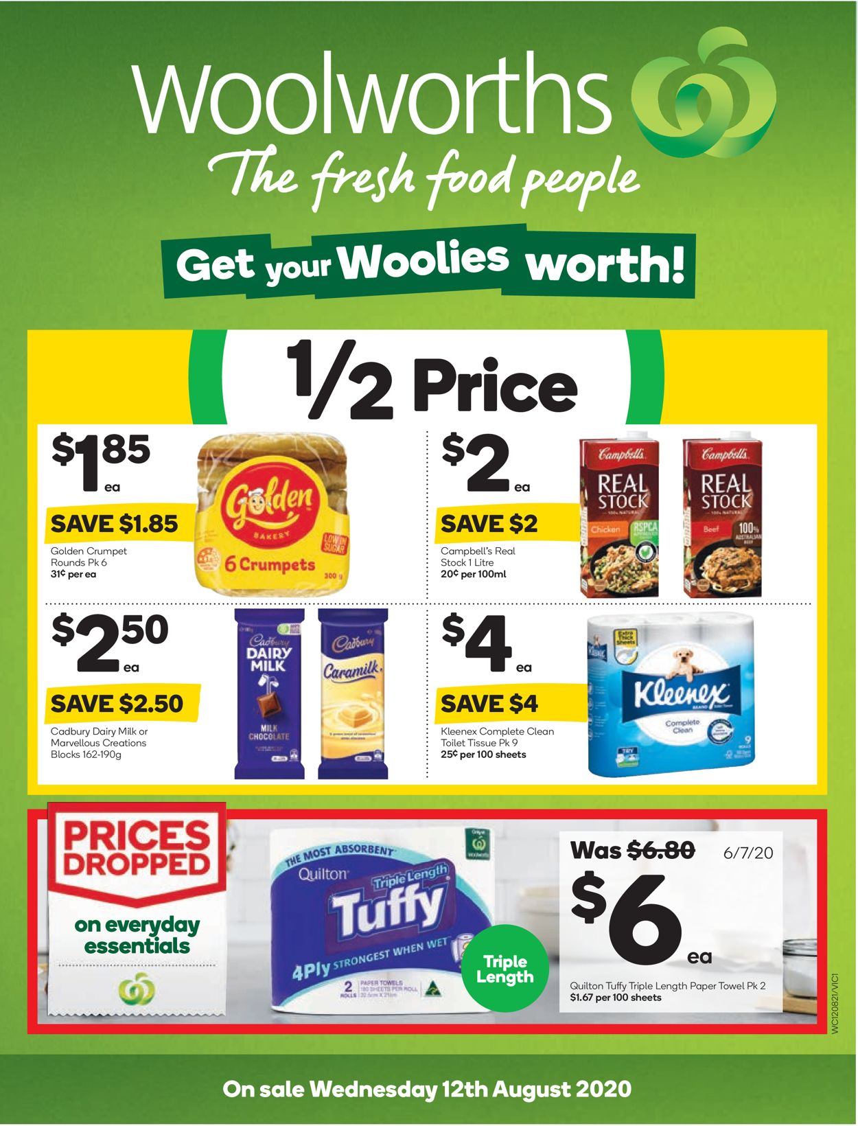 Woolworths Catalogue - 12/08-18/08/2020
