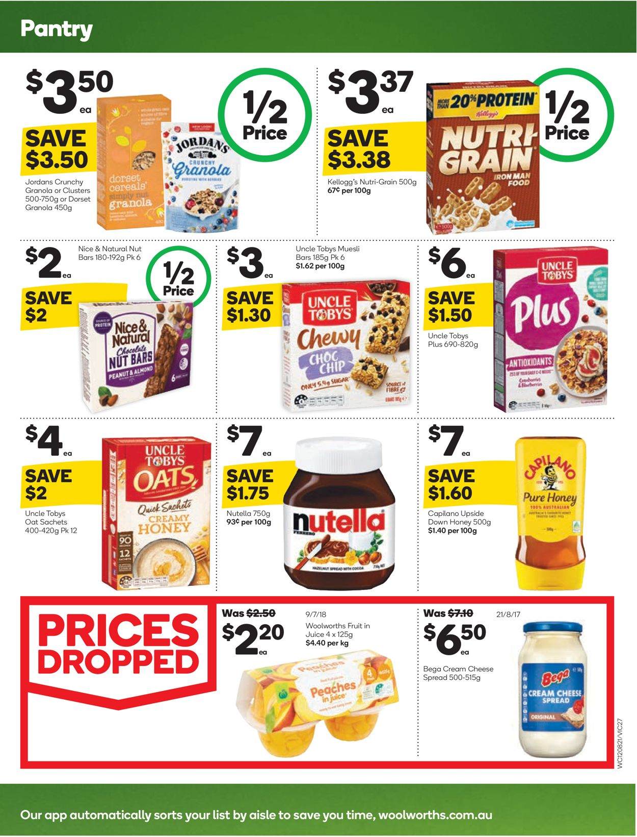 Woolworths Catalogue - 12/08-18/08/2020 (Page 27)
