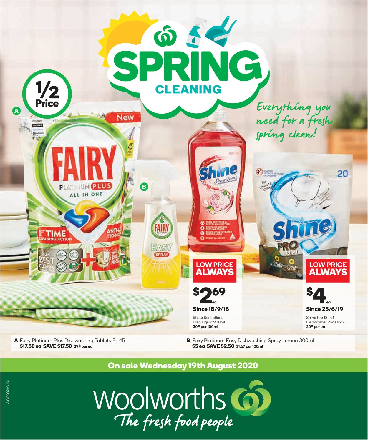 Woolworths Catalogue - 19/08-25/08/2020