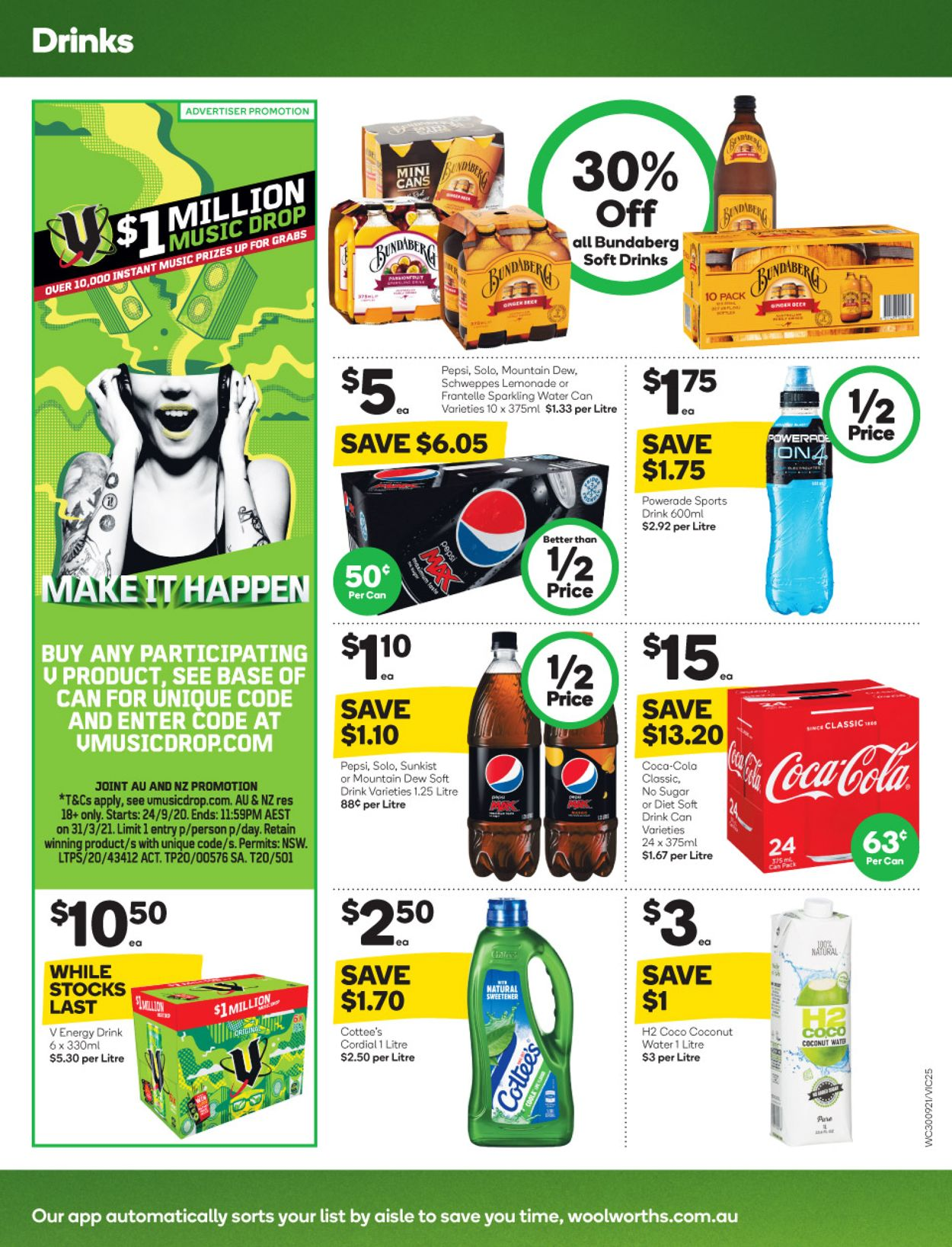 Woolworths Catalogue - 30/09-06/10/2020 (Page 25)