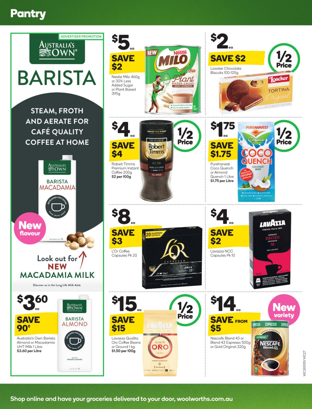 Woolworths Catalogue - 30/09-06/10/2020 (Page 27)