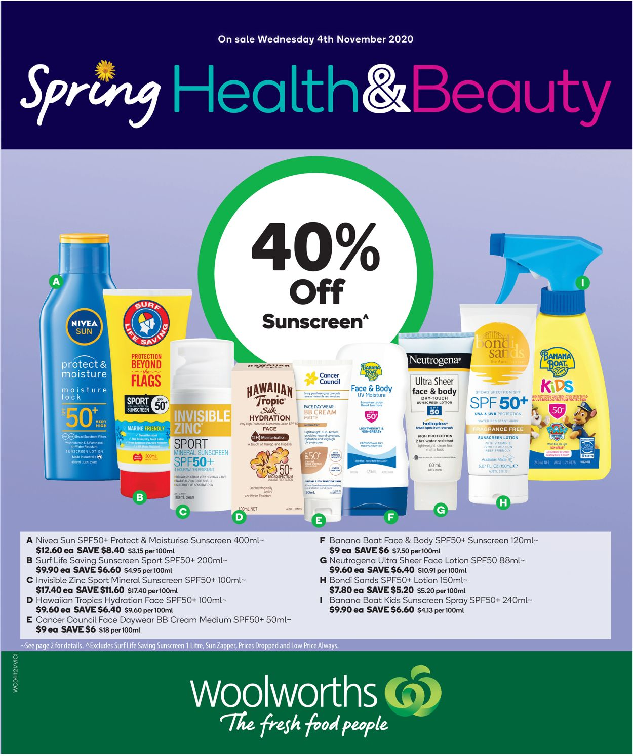 Woolworths Catalogue - 04/11-10/11/2020