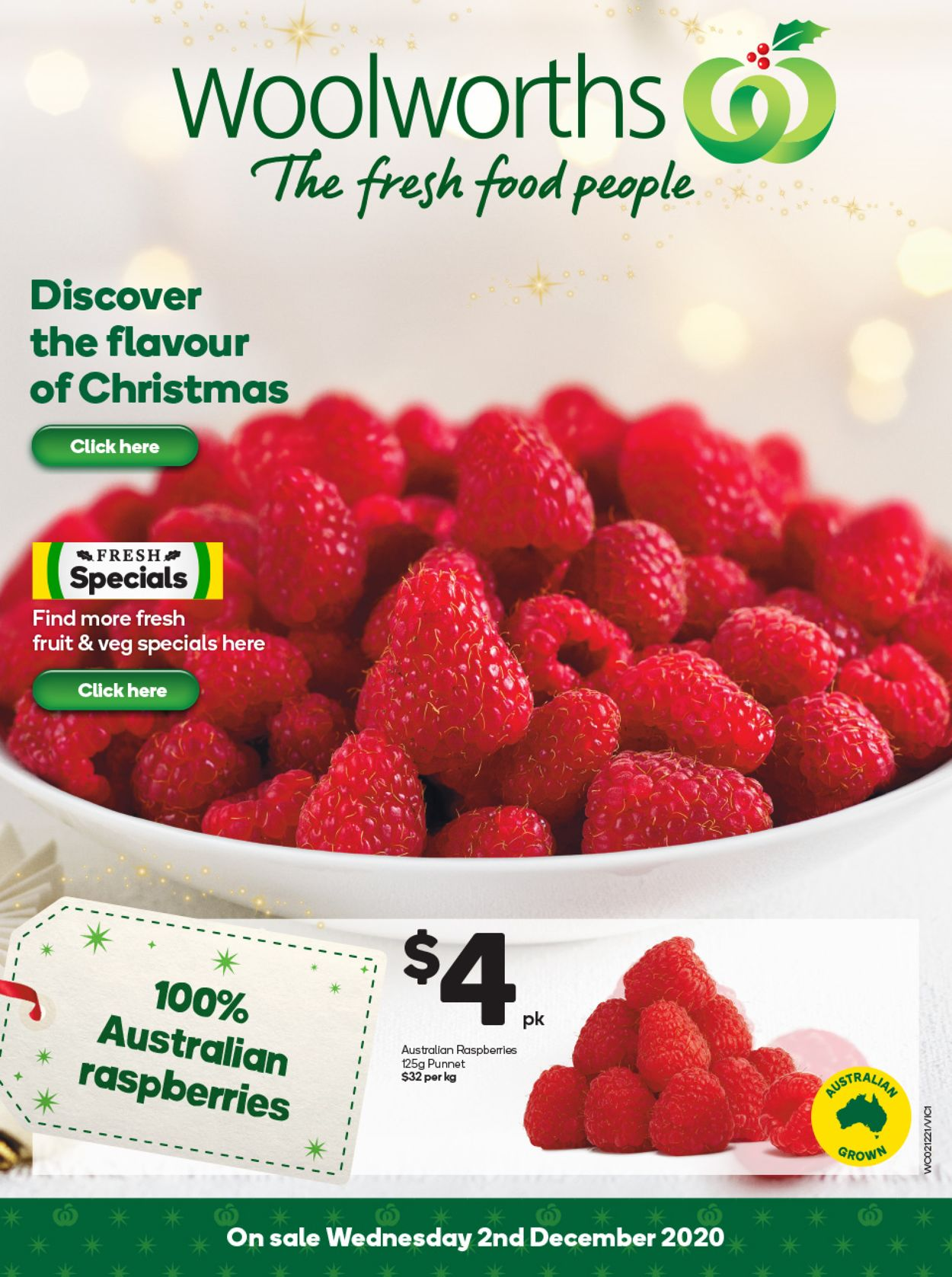 Woolworths - Christmas 2020 Catalogue - 02/12-08/12/2020