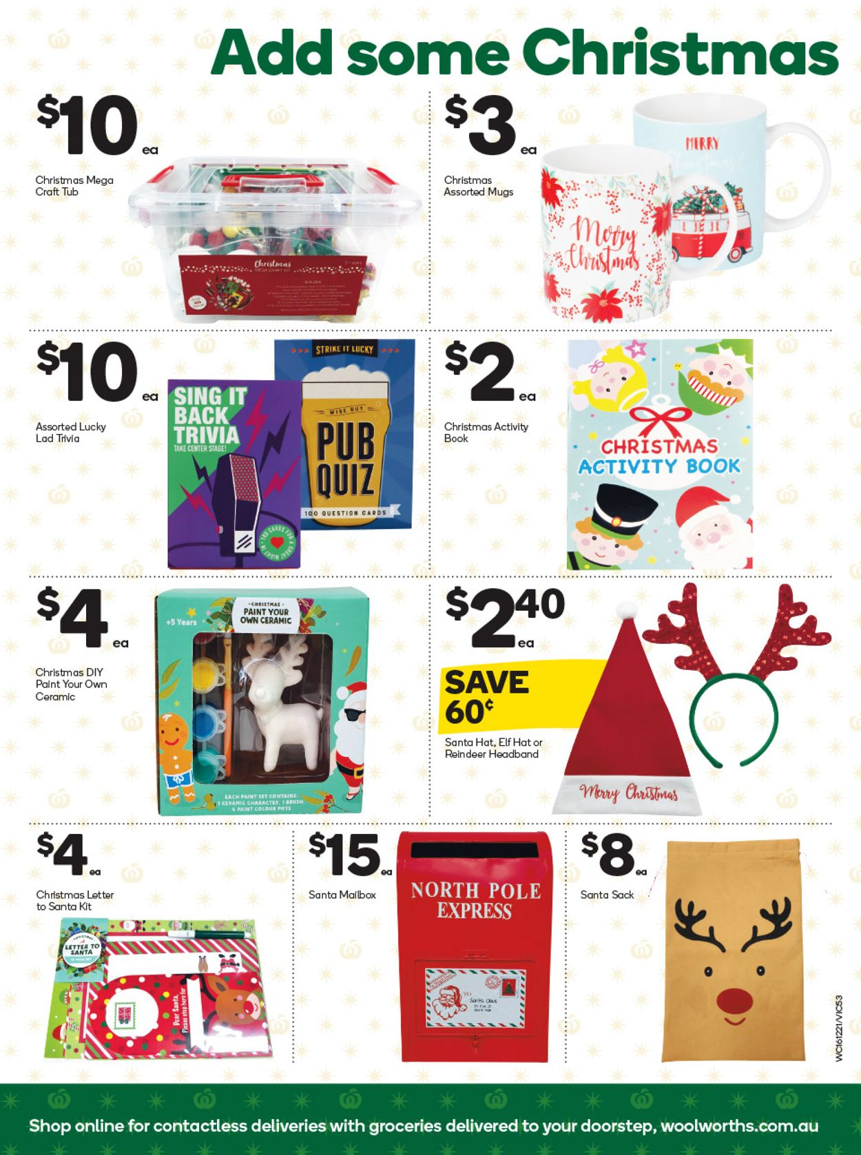 Woolworths - Christmas 2020 Catalogue - 16/12-22/12/2020 (Page 52)