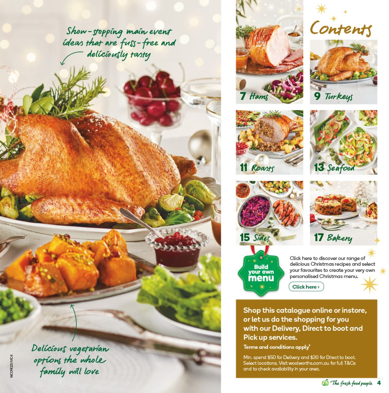 Woolworths - Christmas 2020 Catalogue - 15/12-22/12/2020 (Page 4)