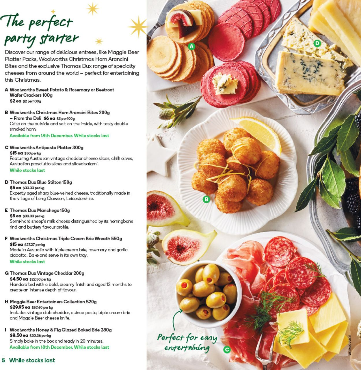 Woolworths - Christmas 2020 Catalogue - 15/12-22/12/2020 (Page 5)