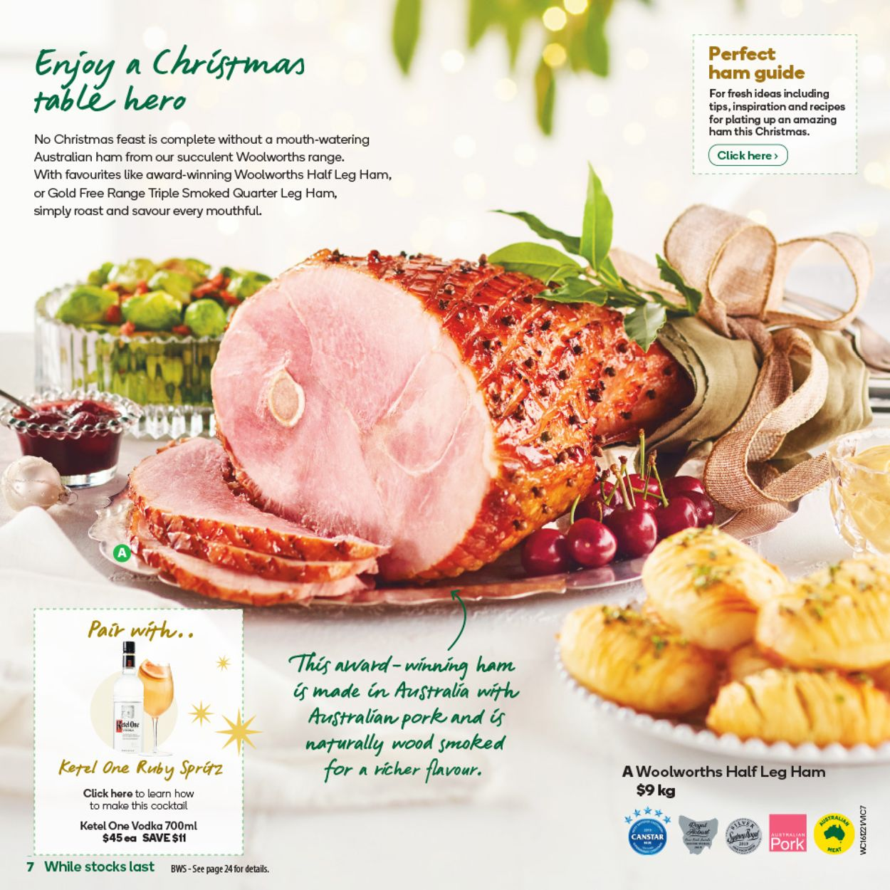 Woolworths - Christmas 2020 Catalogue - 15/12-22/12/2020 (Page 7)