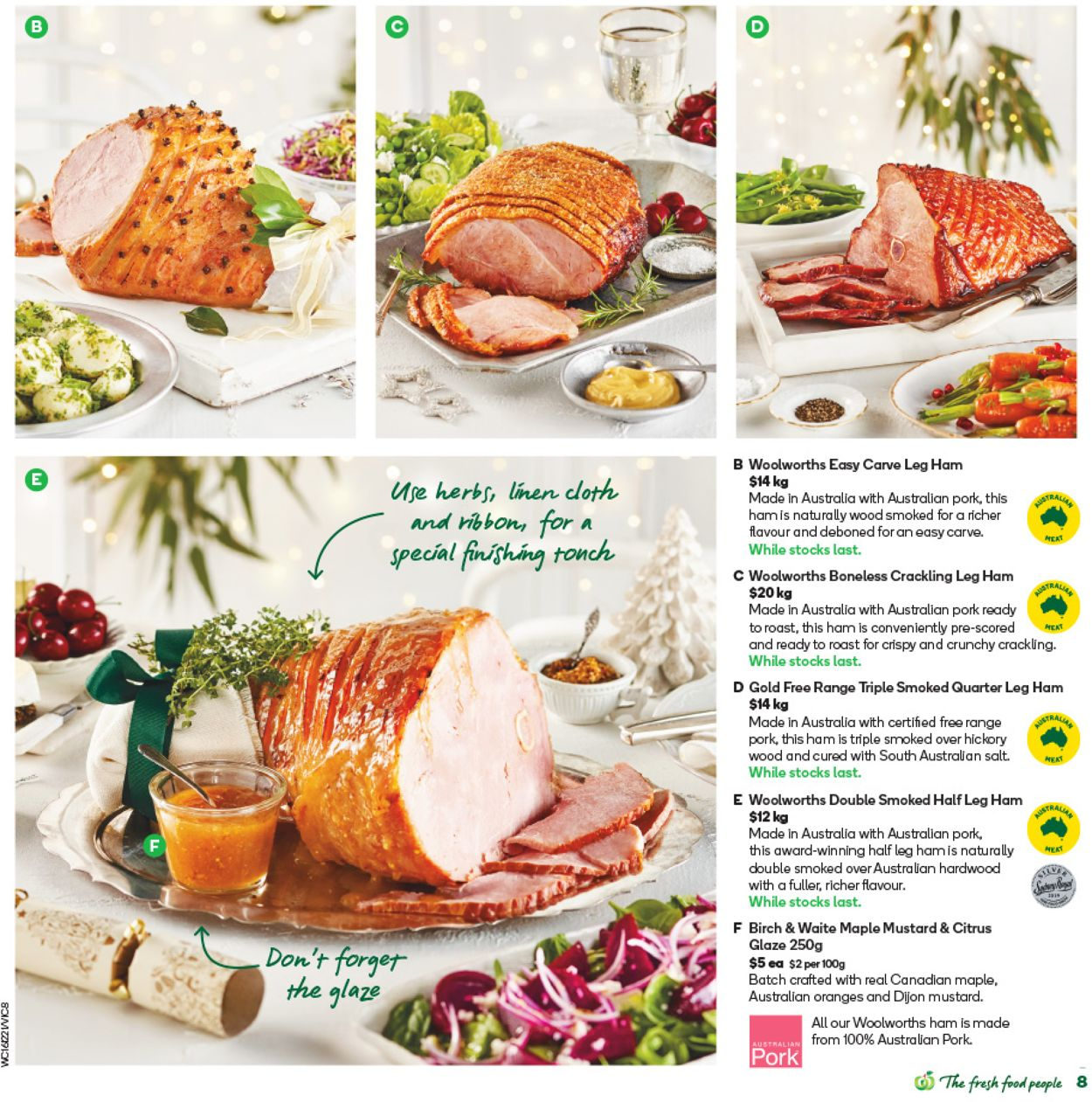 Woolworths - Christmas 2020 Catalogue - 15/12-22/12/2020 (Page 8)