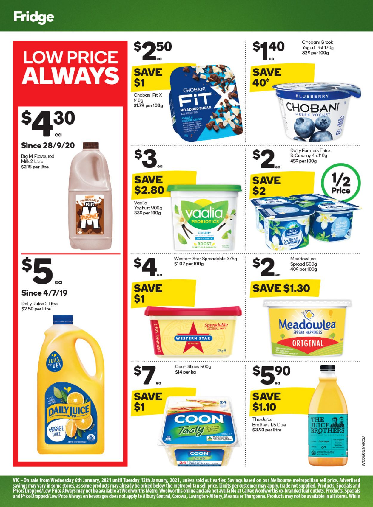 Woolworths Catalogue - 06/01-12/01/2021 (Page 27)