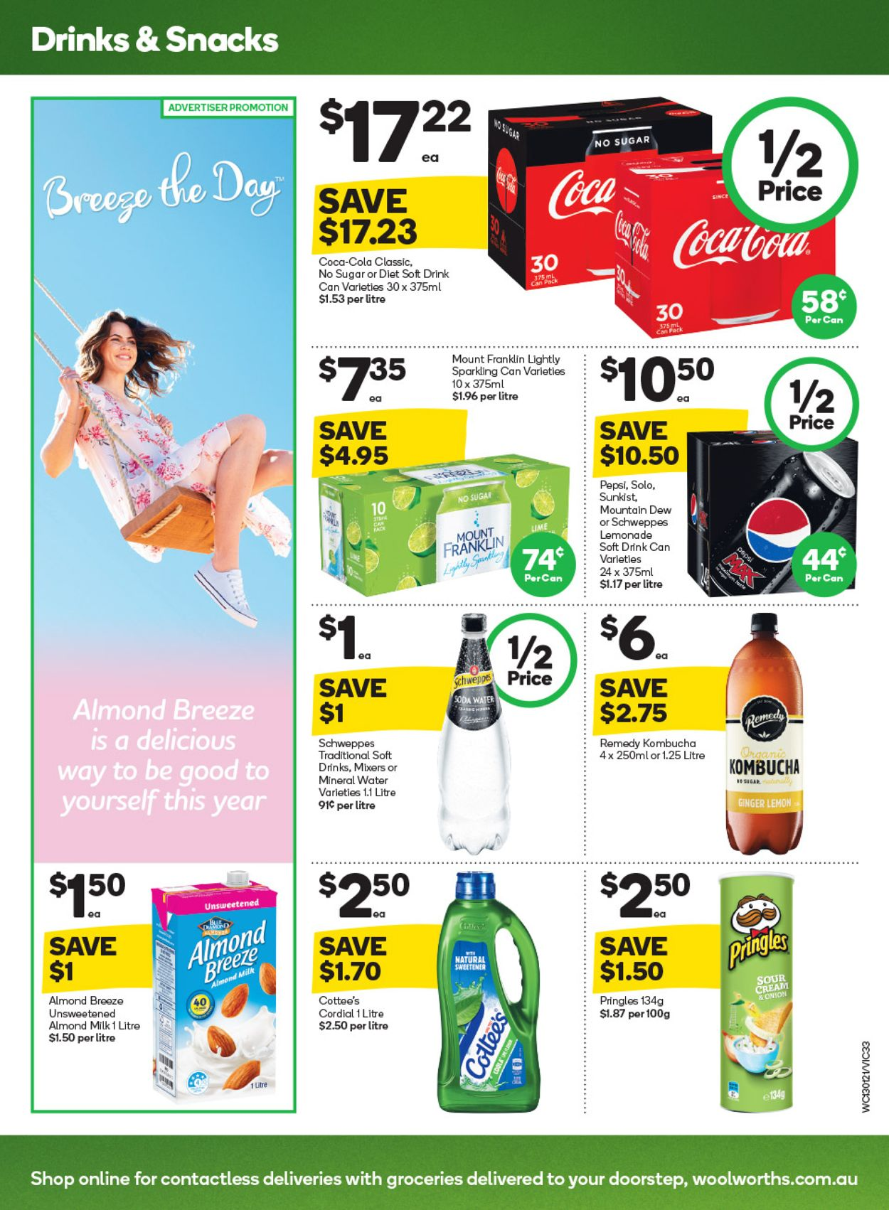 Woolworths Catalogue - 13/01-19/01/2021 (Page 33)