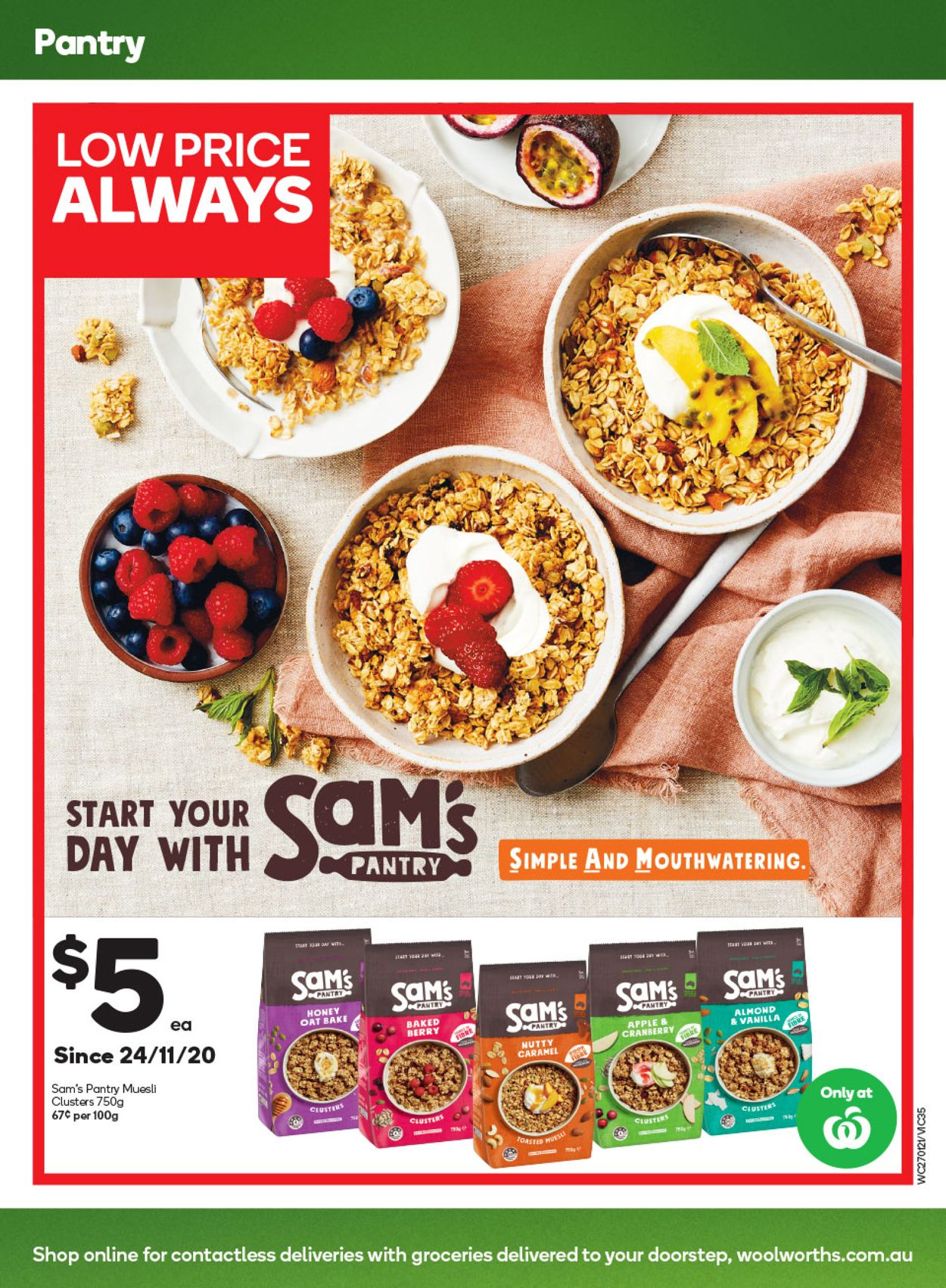 Woolworths Catalogue - 27/01-02/02/2021 (Page 35)