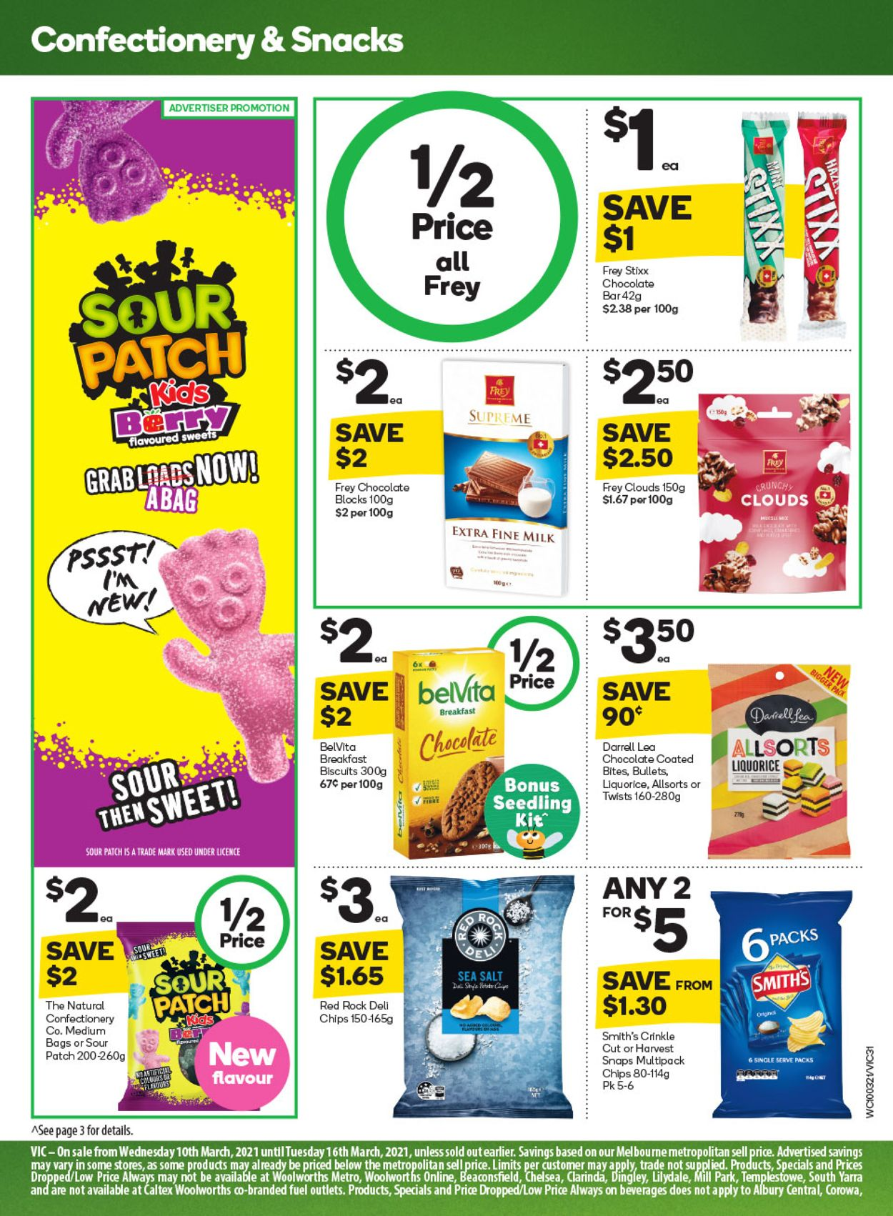 Woolworths Catalogue - 10/03-16/03/2021 (Page 31)