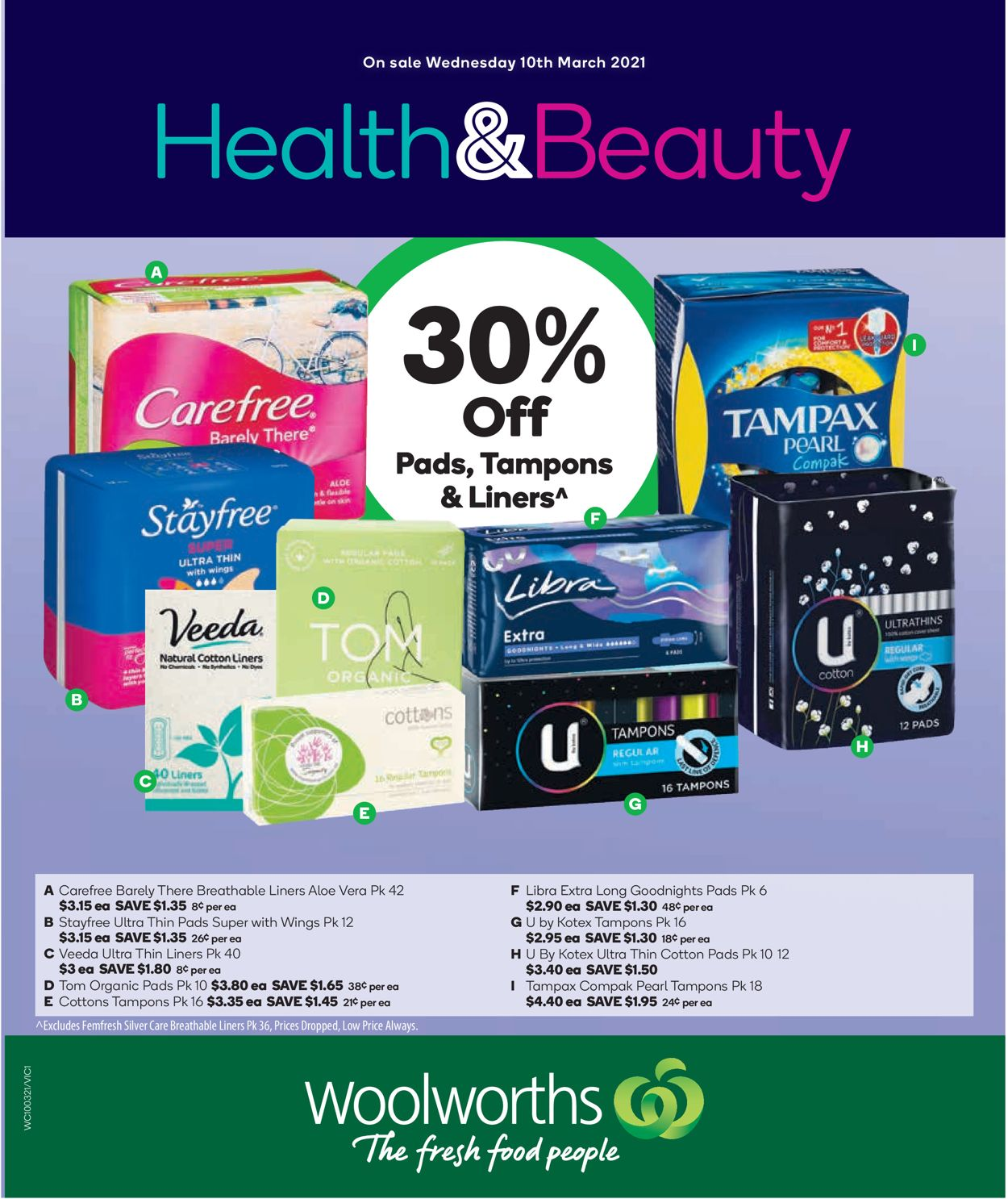 Woolworths Catalogue - 10/03-16/03/2021
