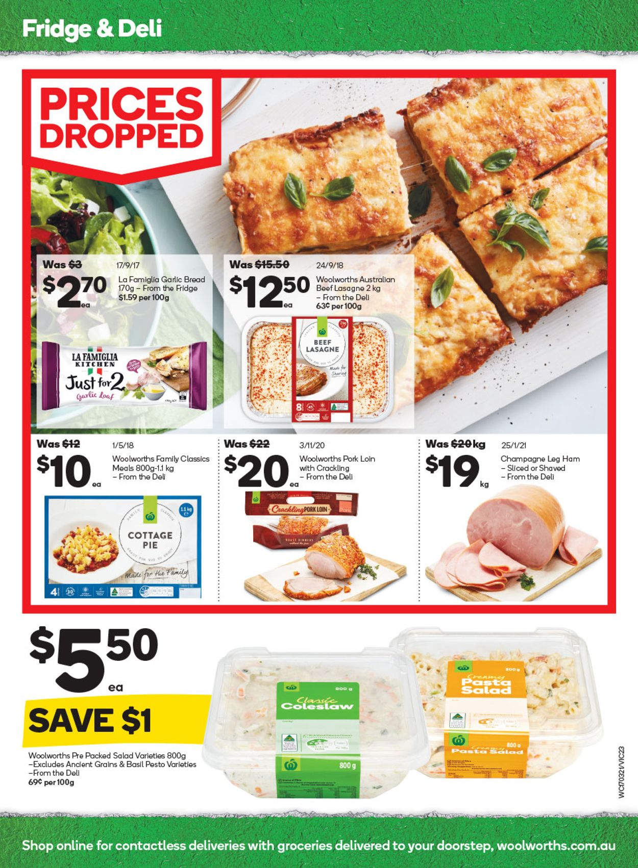 Woolworths Catalogue - 17/03-23/03/2021 (Page 23)