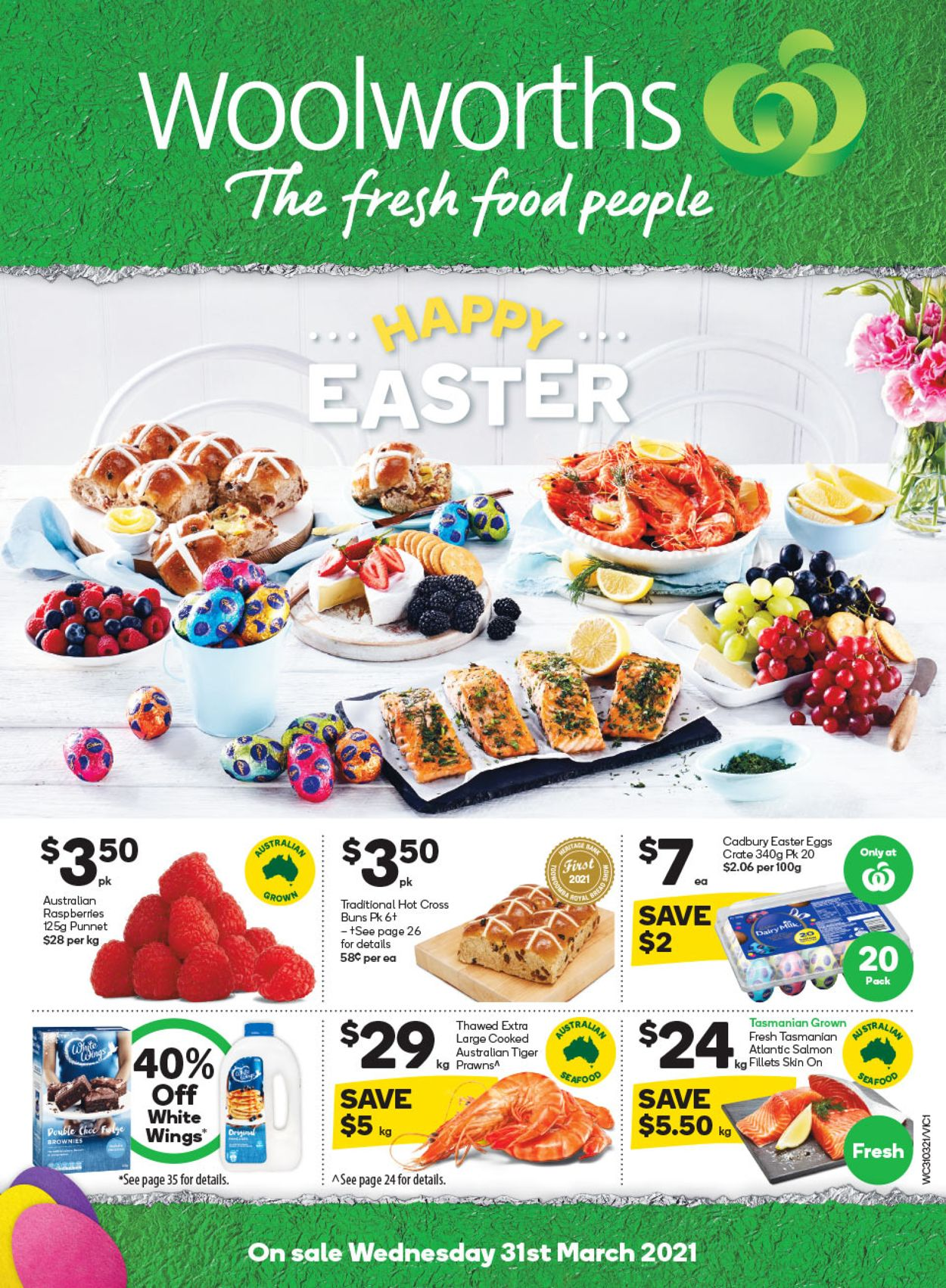 Woolworths Catalogue - 31/03-06/04/2021