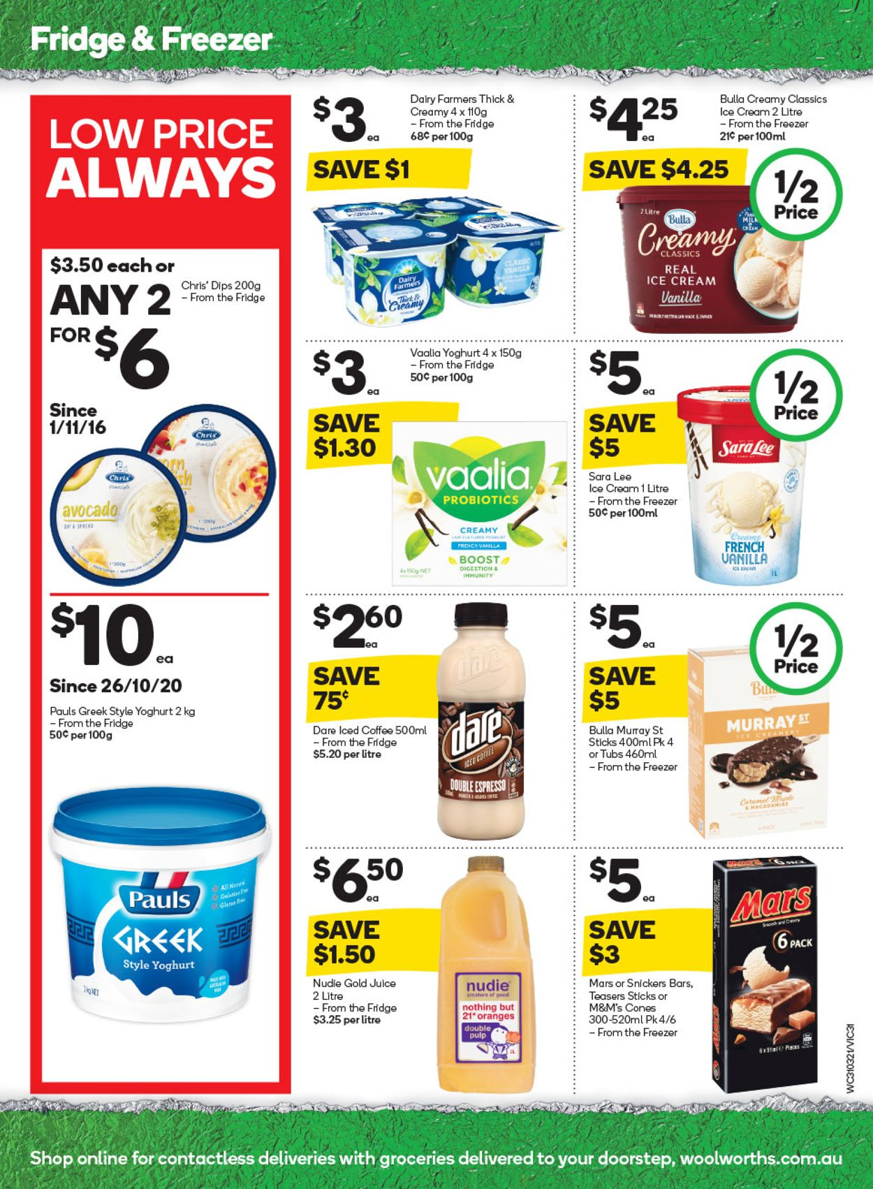 Woolworths Catalogue - 31/03-06/04/2021 (Page 31)