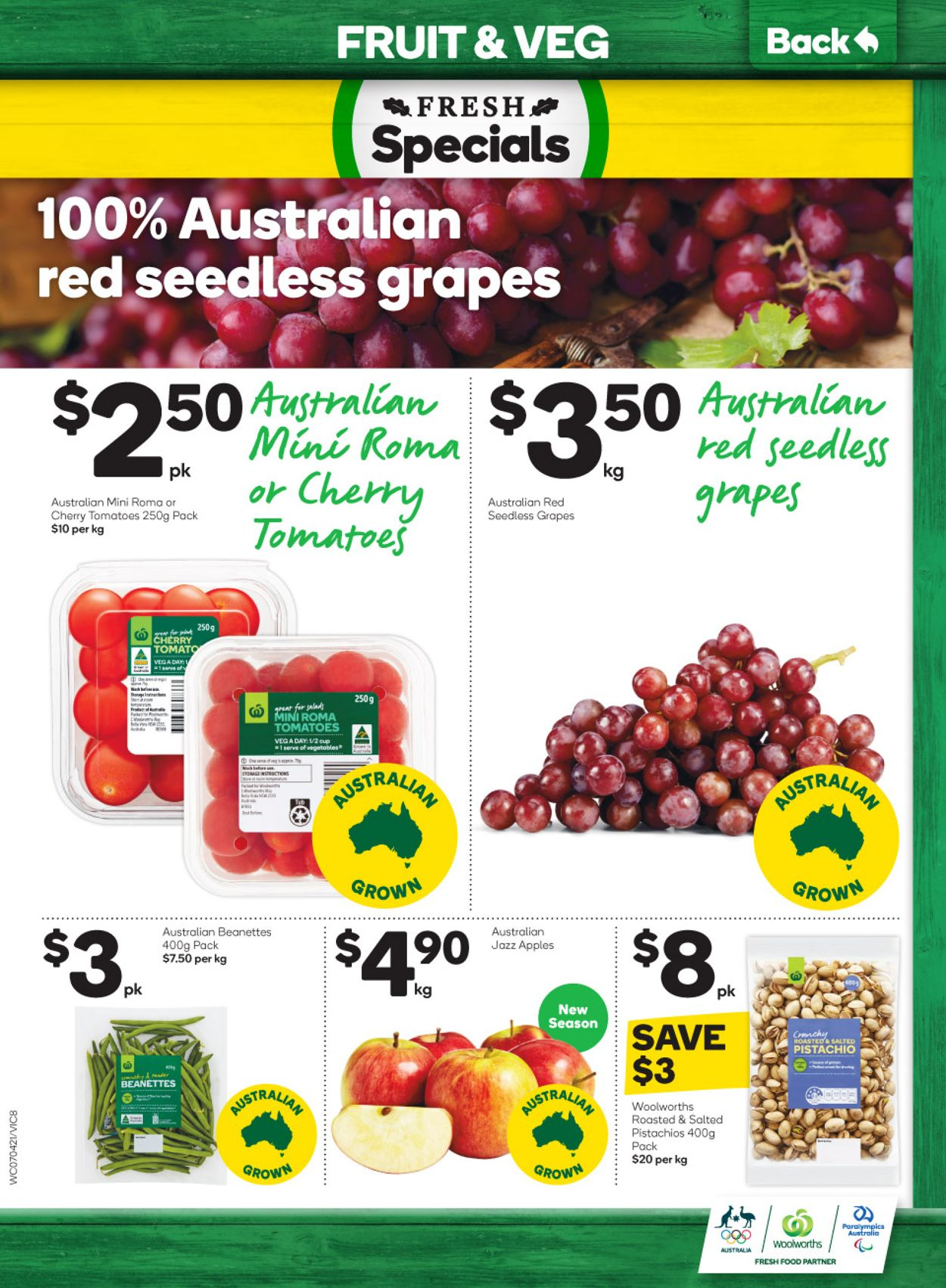 Woolworths Catalogue - 07/04-13/04/2021 (Page 8)