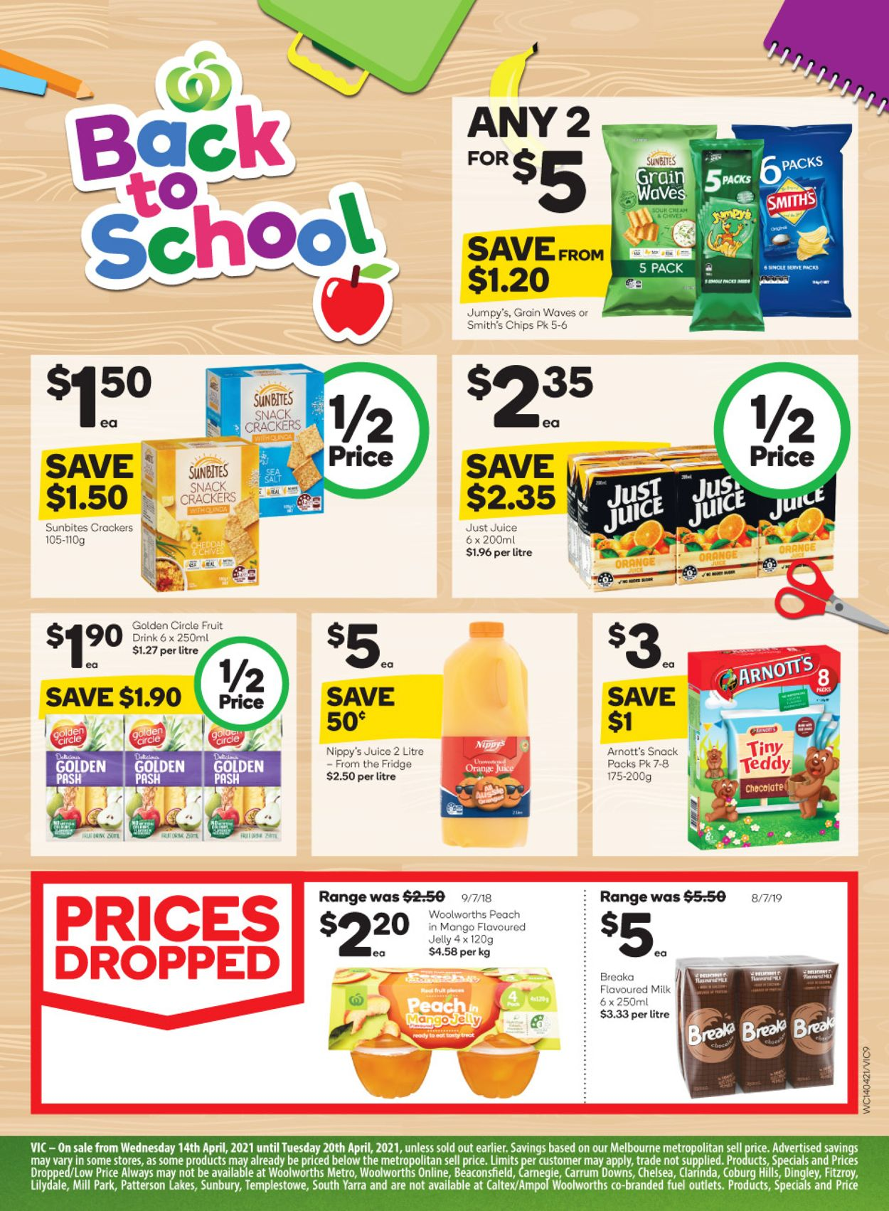 Woolworths Catalogue - 14/04-20/04/2021 (Page 9)
