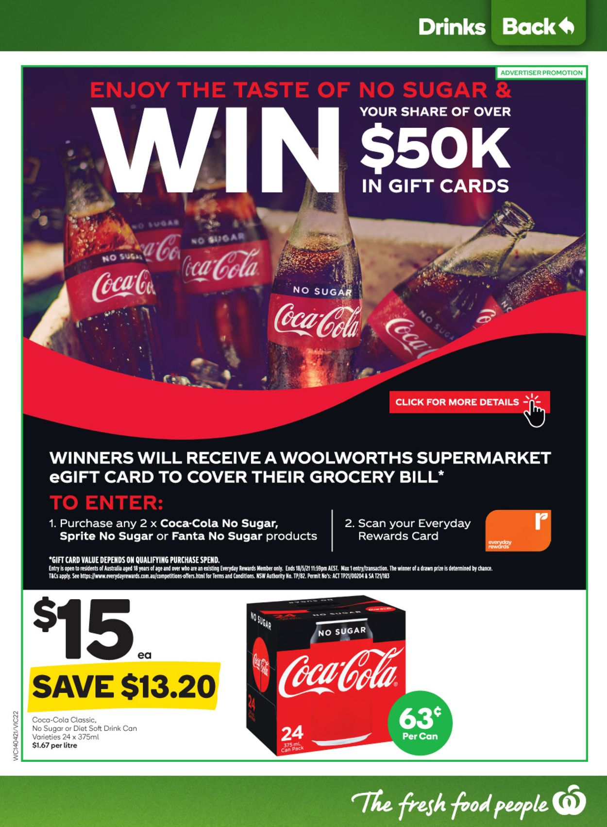Woolworths Catalogue - 14/04-20/04/2021 (Page 22)