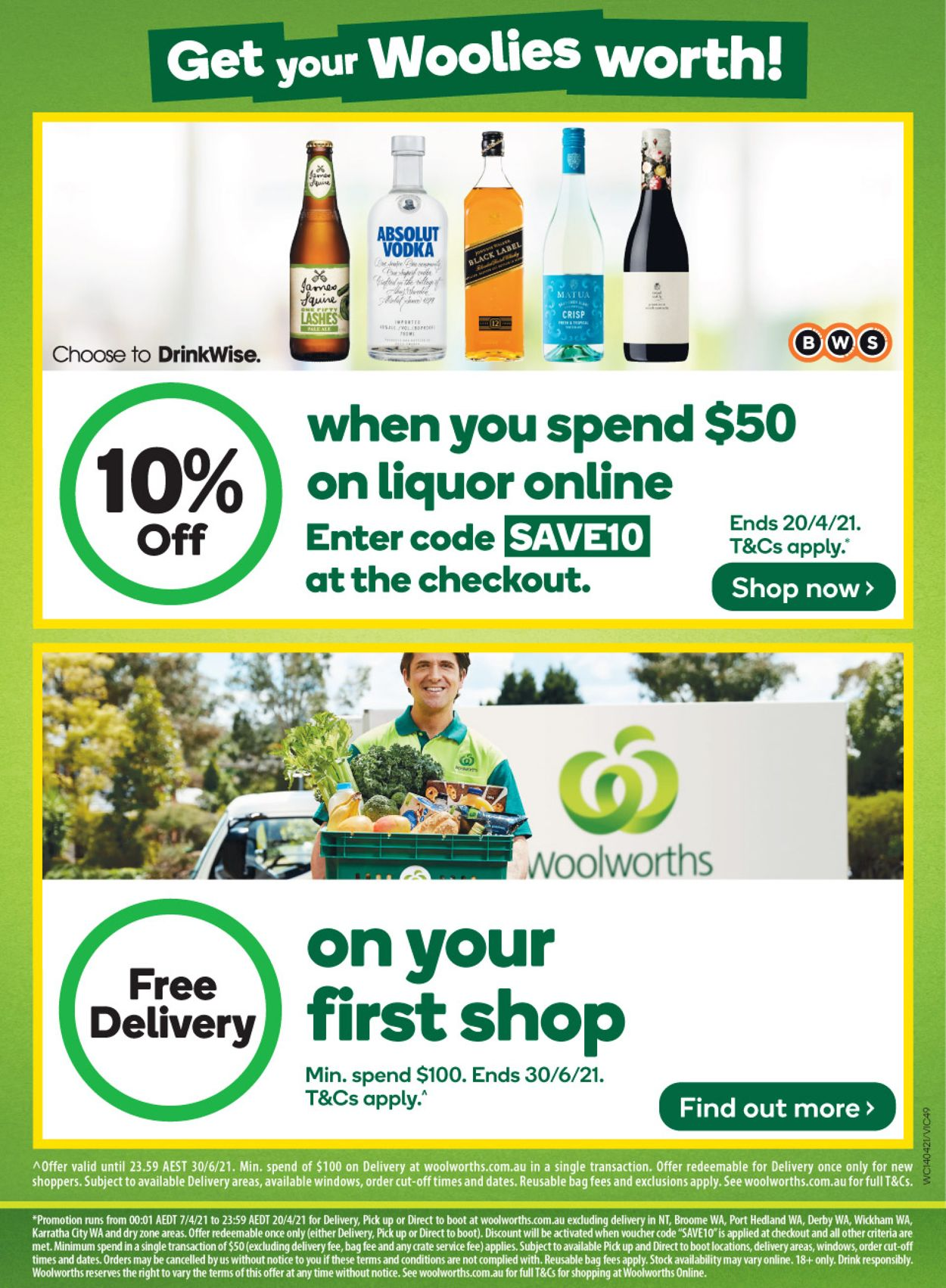 Woolworths Catalogue - 14/04-20/04/2021 (Page 47)
