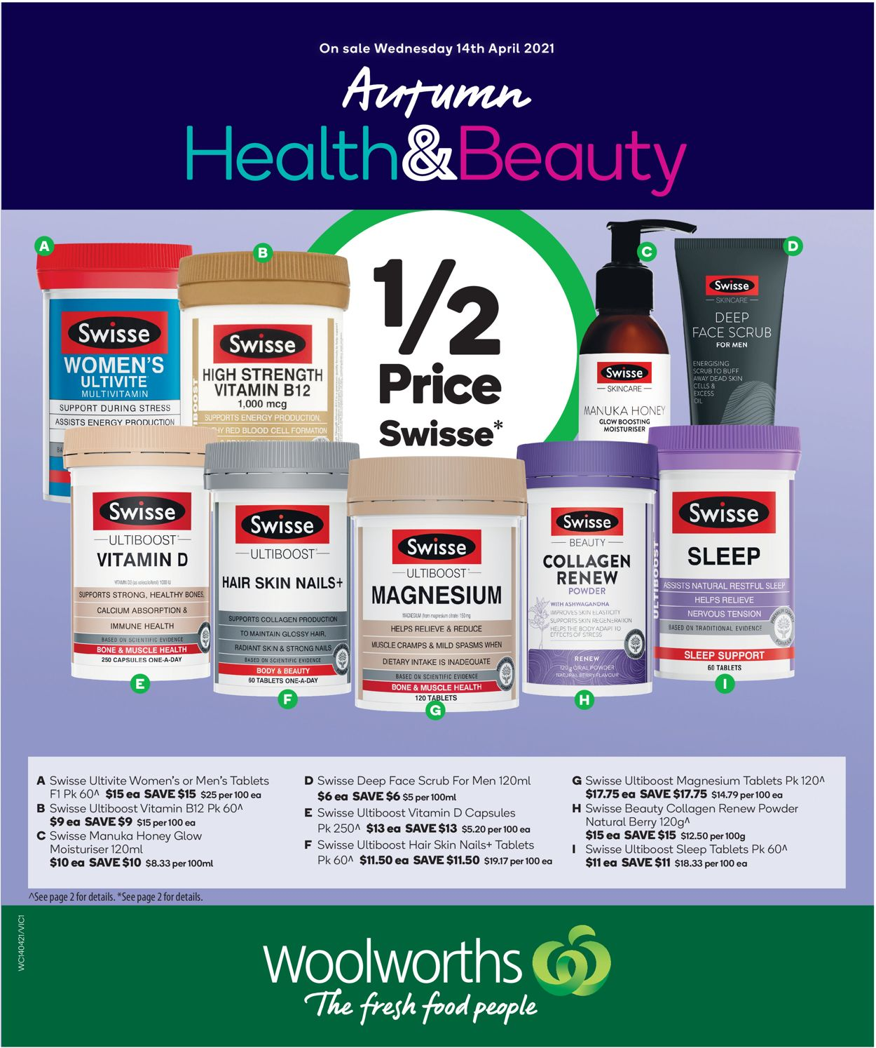 Woolworths Catalogue - 14/04-20/04/2021