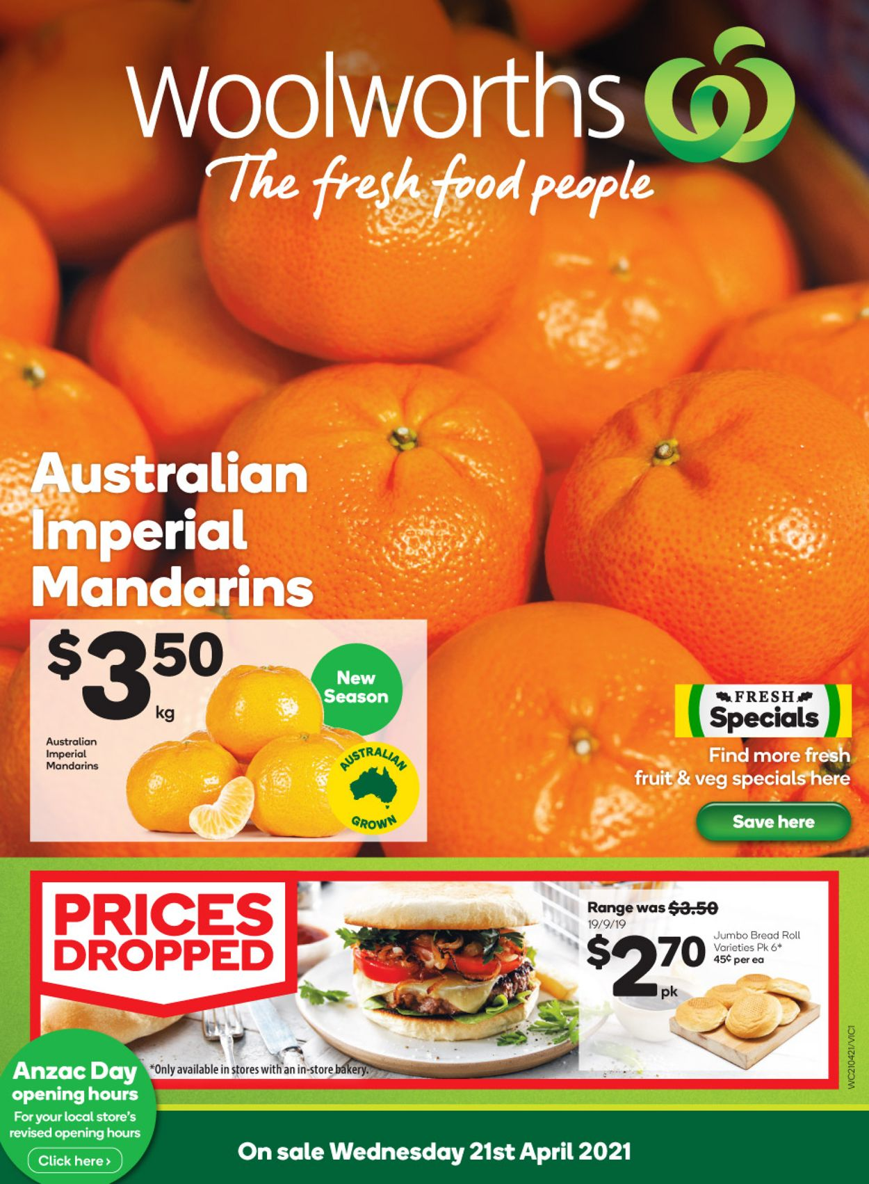 Woolworths Catalogue - 21/04-27/04/2021