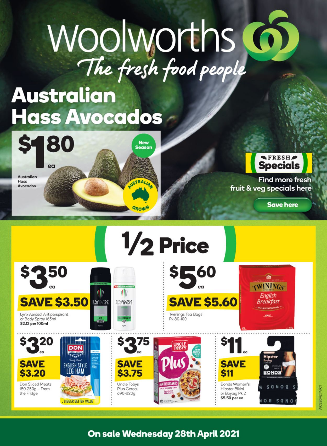 Woolworths Catalogue - 28/04-04/05/2021