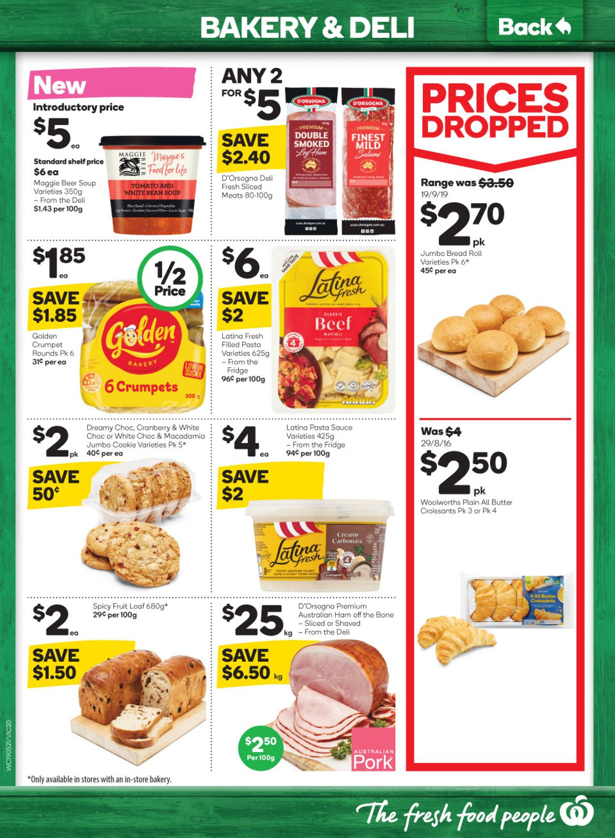 Woolworths Catalogue - 19/05-25/05/2021 (Page 20)