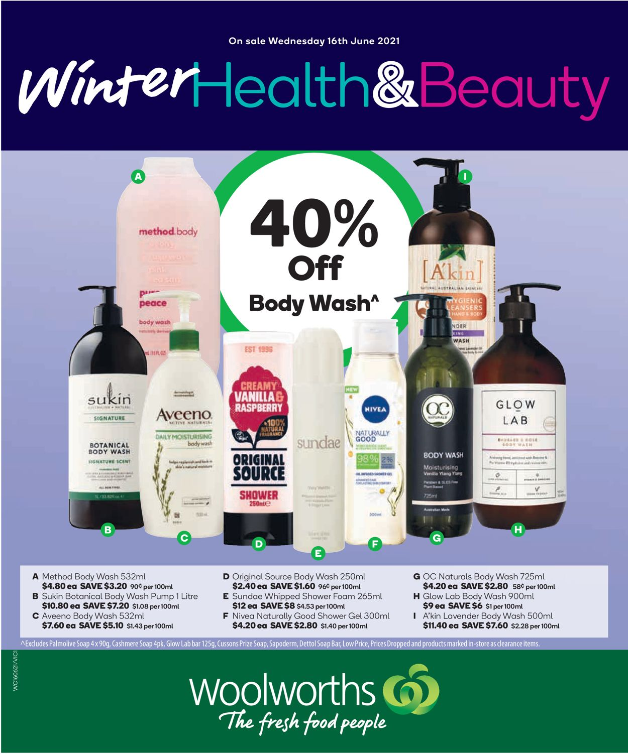 Woolworths Catalogue - 16/06-22/06/2021