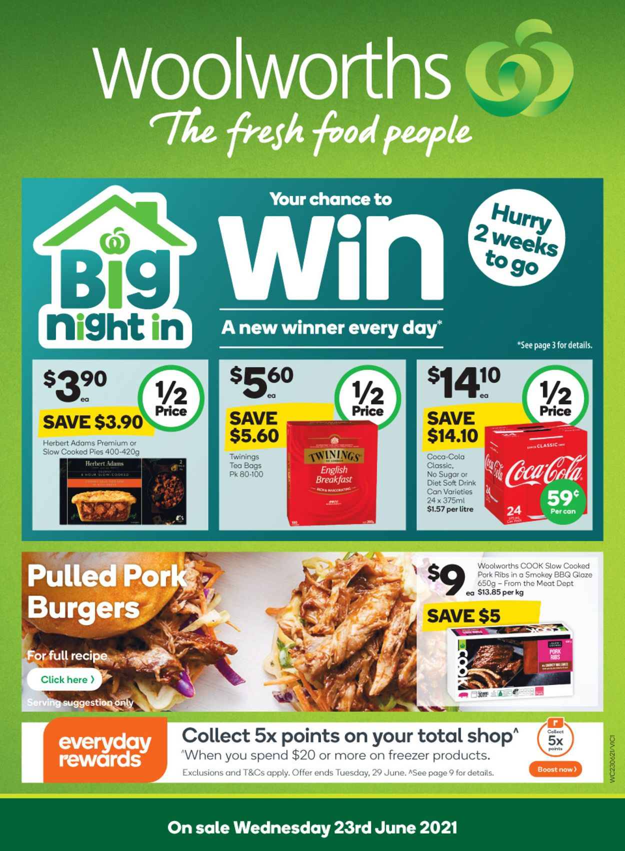 Woolworths Catalogue - 23/06-29/06/2021