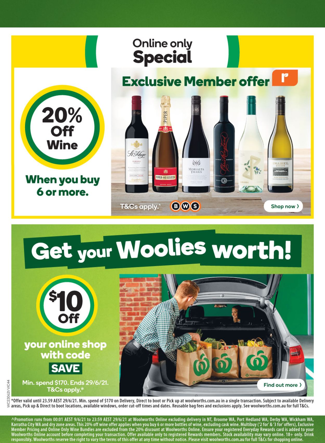 Woolworths Catalogue - 23/06-29/06/2021 (Page 44)