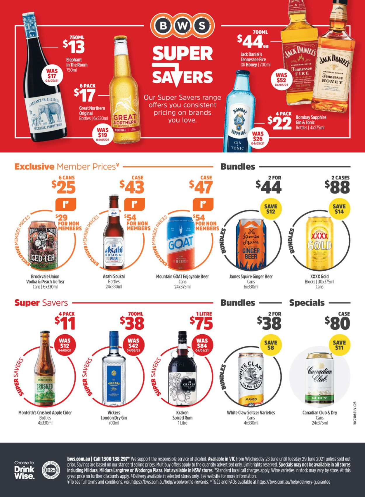 Woolworths Catalogue - 23/06-29/06/2021 (Page 45)