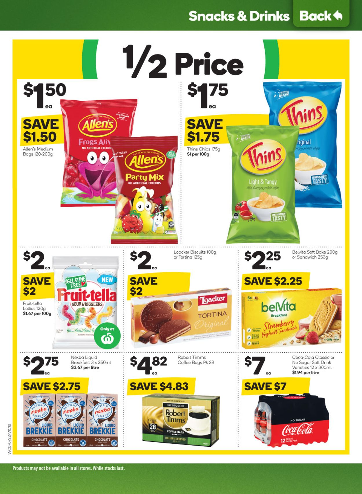Woolworths Catalogue - 21/07-27/07/2021 (Page 10)