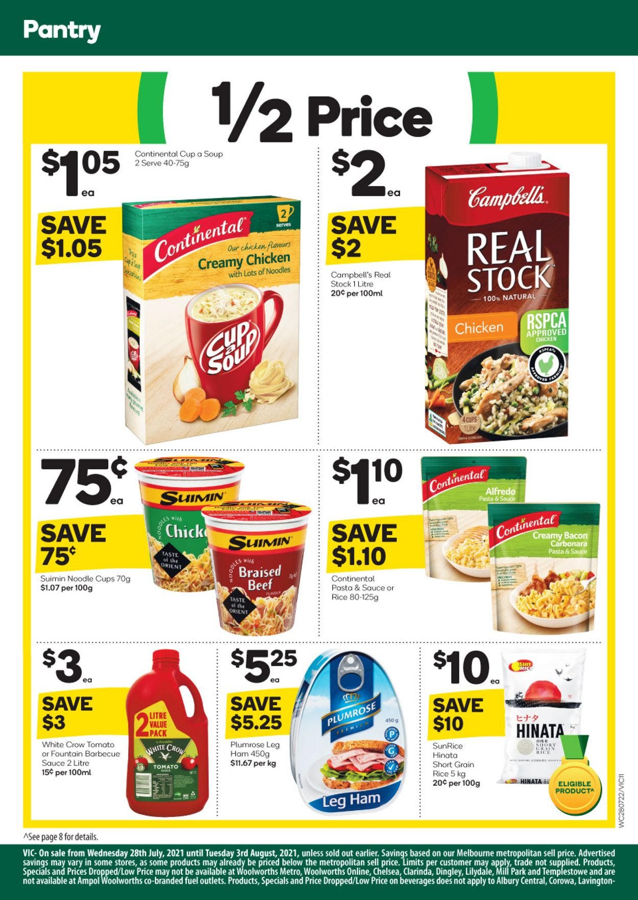 Woolworths Catalogue - 28/07-03/08/2021 (Page 12)