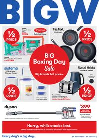 BIG W Boxing Day 2019
