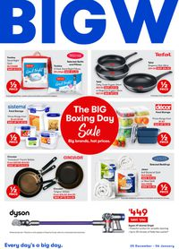 BIG W - Boxing Day 2020