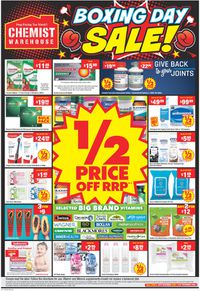 Chemist Warehouse - Boxing Day 2020