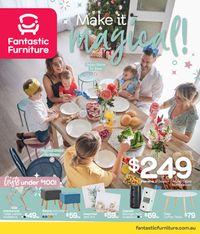 Fantastic Furniture Christmas Catalogue 2019