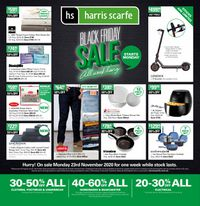 Harris Scarfe Black Friday 2020