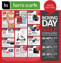 Harris Scarfe - Boxing Day 2020