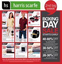 Harris Scarfe - Boxing Day 2020