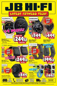JB Hi-Fi Fitness Tech