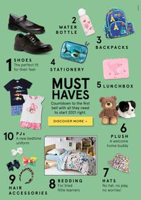 Myer - Back To School 2021