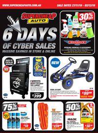 Supercheap Auto Cyber Sales 2019