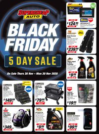 Supercheap Auto - Black Friday 2020