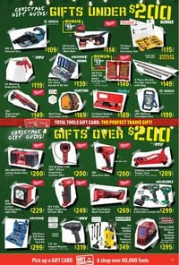 Total Tools - Christmas 2020