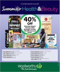 Woolworths - Health & Beauty
